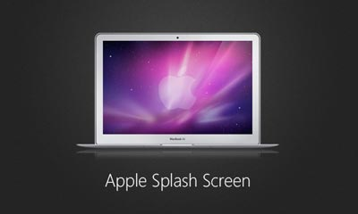 Making an Apple-style Splash Screen