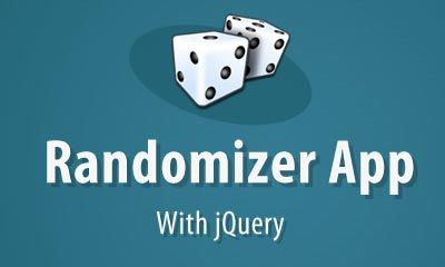 Making a Giveaway Randomizer App with jQuery
