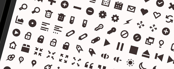 More than 120 practical small icon vector material