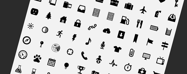 Simple Small Icons Vector