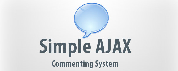 Simple AJAX Commenting System