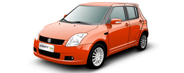 swift car vector