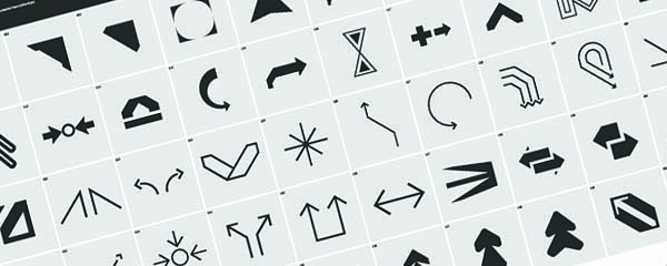 Free Vector Arrow Icons 01