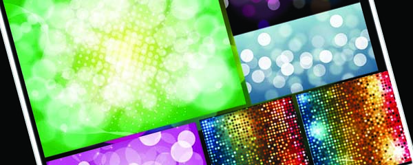 Bling shiny Free Vector Backgrounds