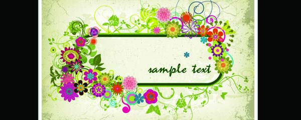 3 vector floral greeting card designs| graphic hive, Powerpoint templates