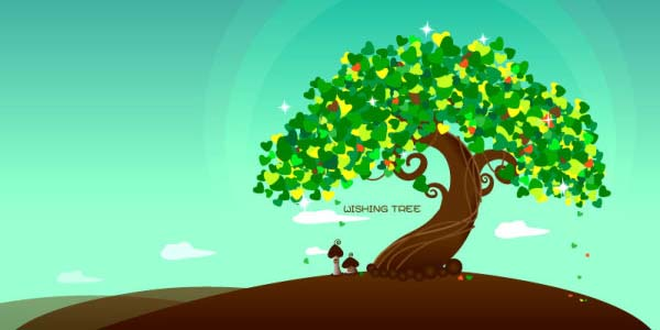 tree vector | graphichive, Powerpoint templates