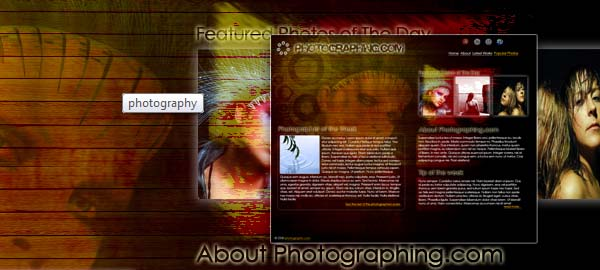 Photography Free Photoshop Template