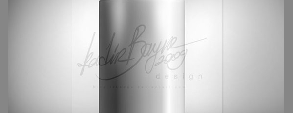 Metallic soda can psd