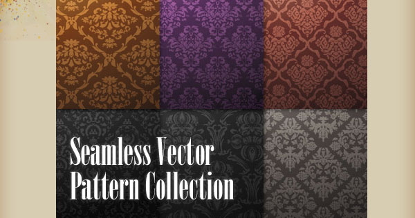 30 Free Classic Seamless Vector Patterns