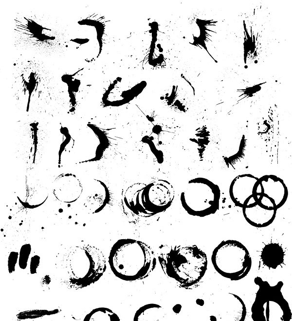 Graphichive Net: Making Marks: Indian Ink Inspiration II: The Web
