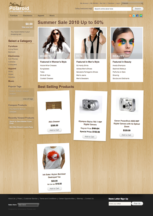 A Free Magento Theme For Your eCommerce Website