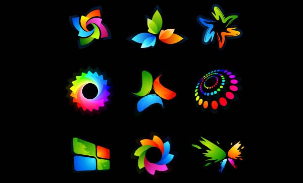 beautiful logo graphics vector graphic| graphic hive, Powerpoint templates