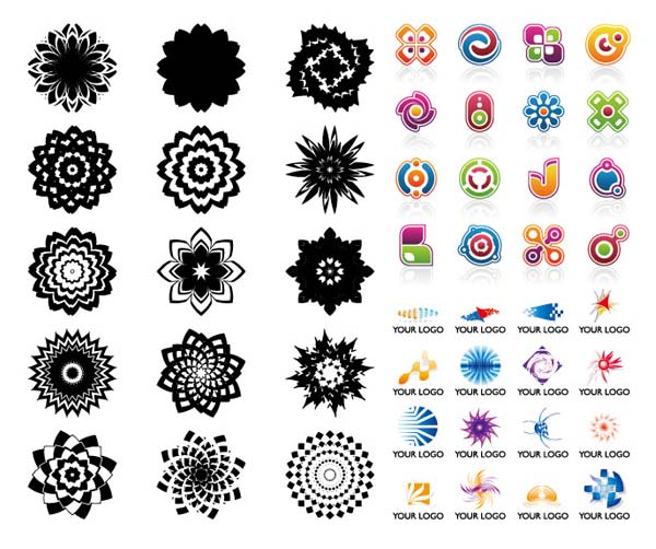 Some useful material vector graphics