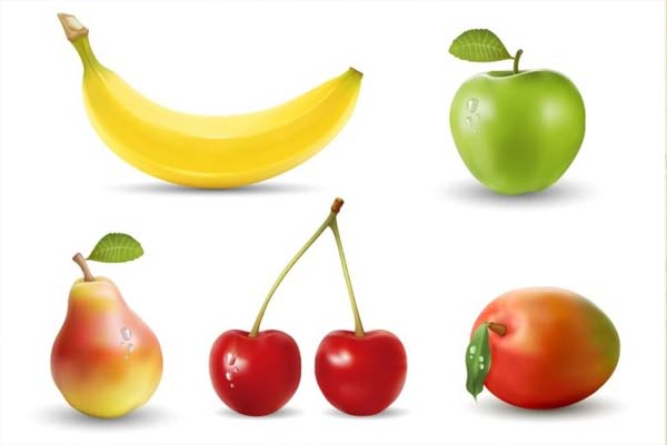 Realistic Vector Fruits