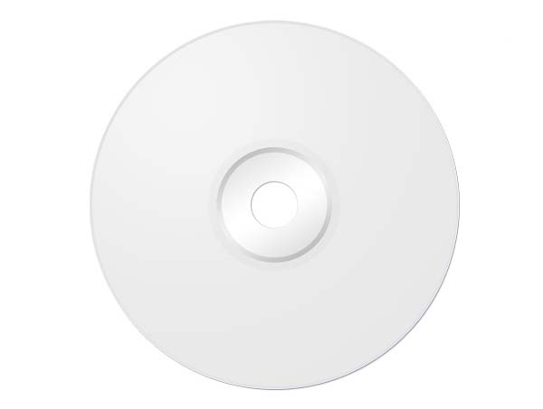 Blank CD photoshop template 