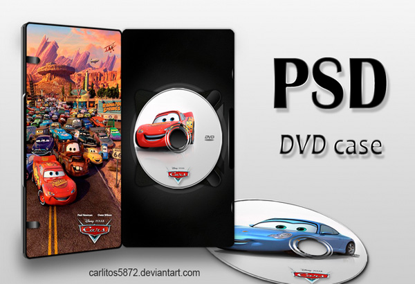 DVD Case (PSD)