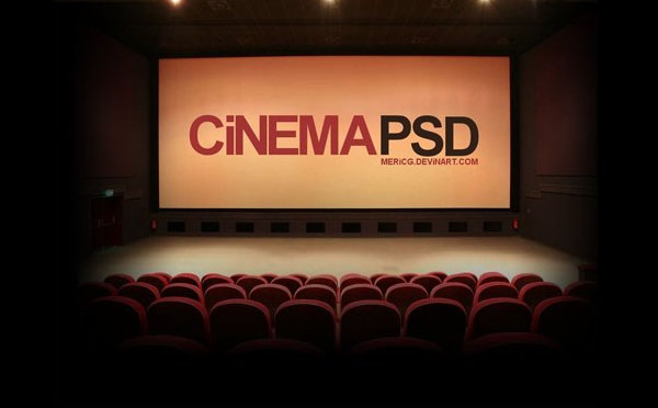 Cinema Saloon psd file