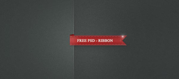 Psd Folded Ribbon