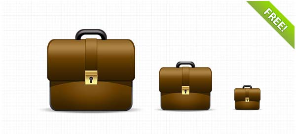 Free Briefcase Icon