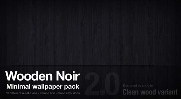 Wooden Noir 2.0 - Clean Wood