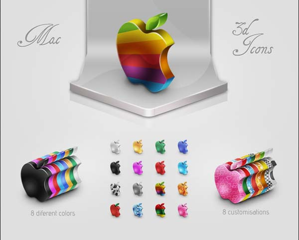 16 Apple Icons