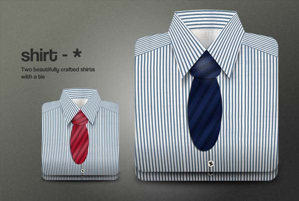 shirts with a tie graphic
