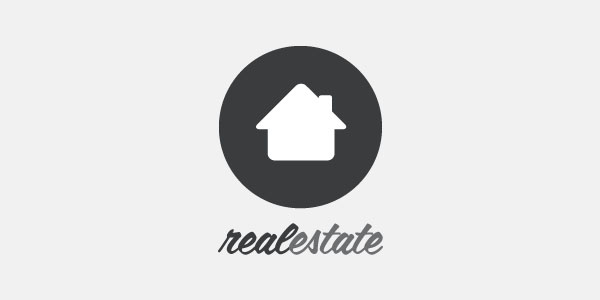 Real Estate House Logo ( Vector Illustration )