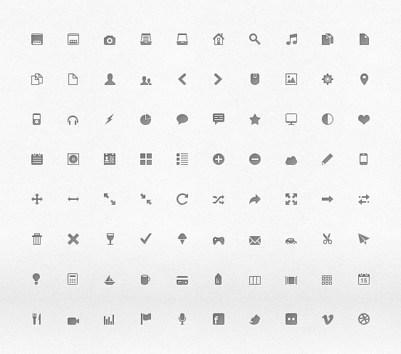 web design pixel icons psd graphic hive