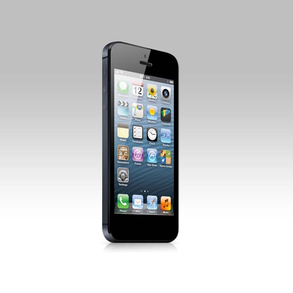 New Iphone 5 Psd