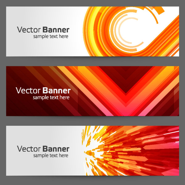 3 Perfect Banners (Vector Design)