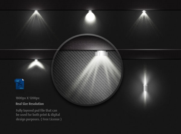 Lighting Bulbs Light Effect Psd Graphic Hive
