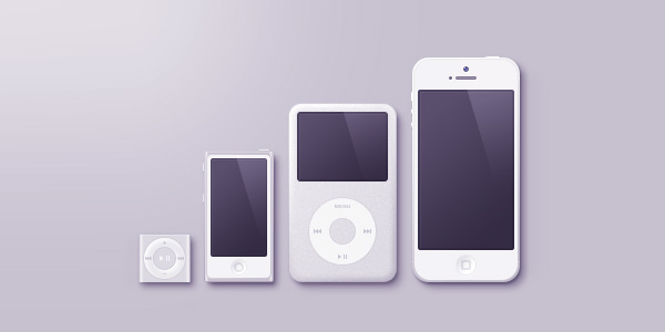 Apple Products (Psd)