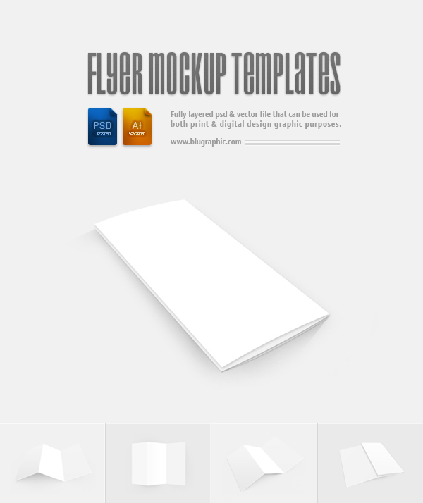 Blank Flyers Blank Flyer Templates Psd