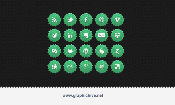 http://graphichive.net/details.php?id=25948 Rounded Button Social ...