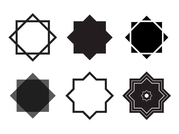 Islamic Star Vector Graphic Hive