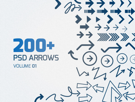 Psd Arrows (free download)