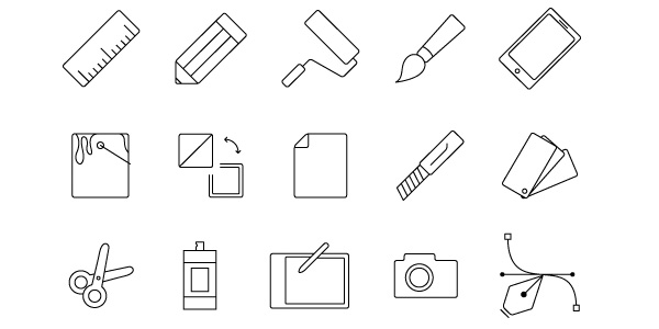 Designer Tools (vector icons)