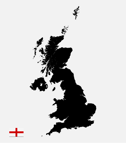 Download The England Map In Vector Ai File Designed By Blugraphic Com
