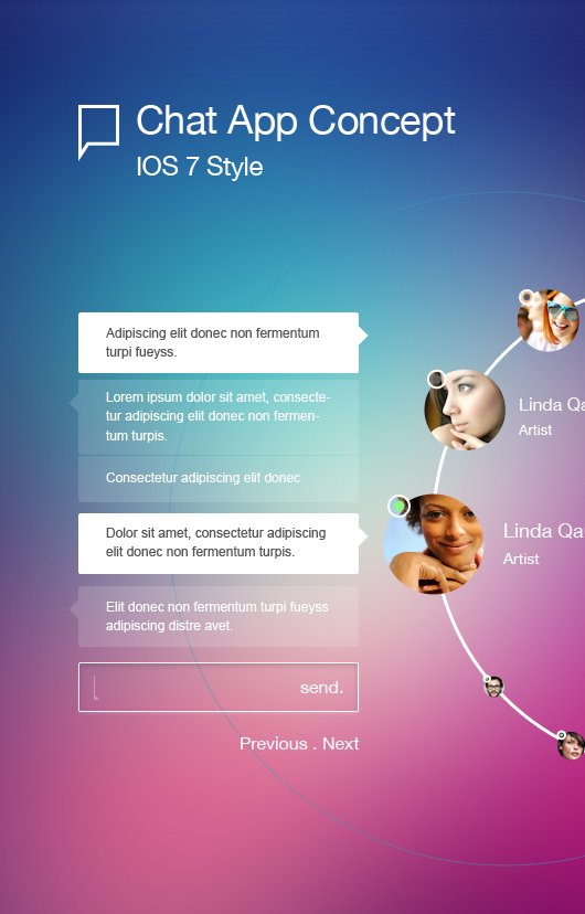 Application Design (Chat Psd)
