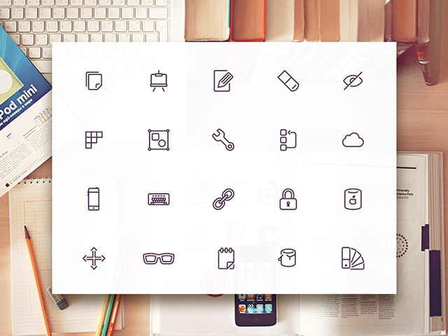 300 UI8 design related icons from