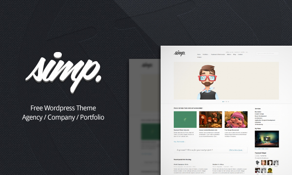 Simp Free Wordpress Template V1.0