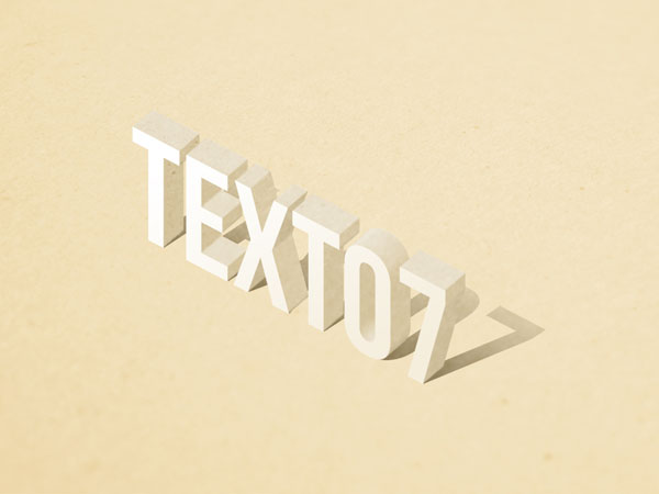 ... design in psd format; photoshop smart object.]]> Standing 3d Text