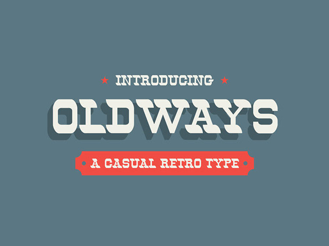 Oldways Retro Free Font Download