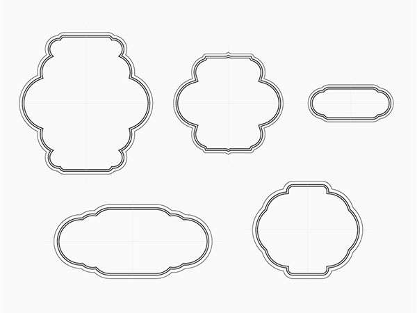Free Vector Decorative Frame