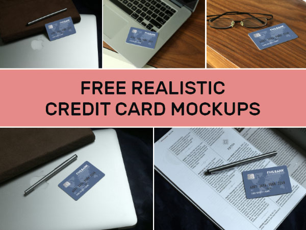 Free Credit Card Mockup Templates