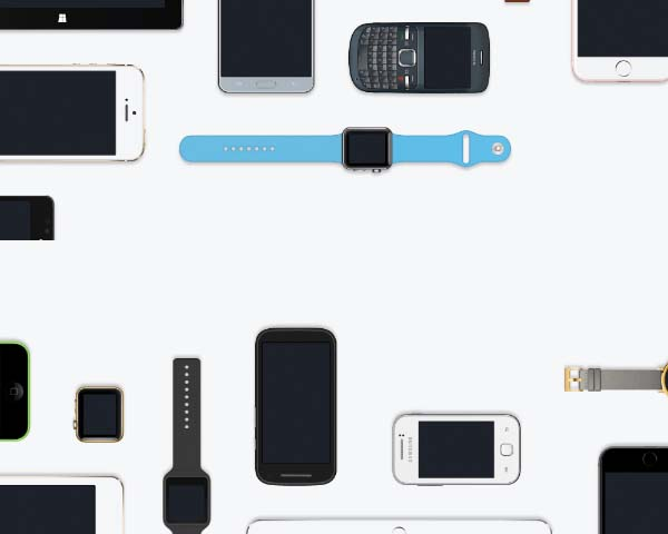 Devices Top View Mockups