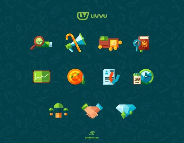 Livuu Colored Icons Pack
