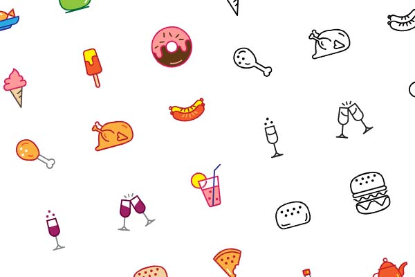 Food Icons - Vector Material