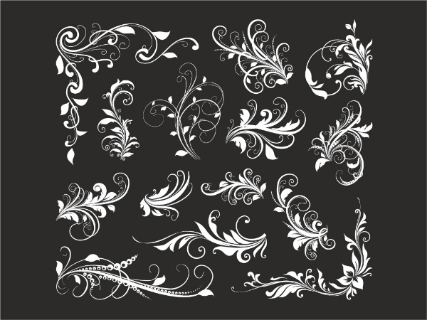 Vector Material Florals - Free Download