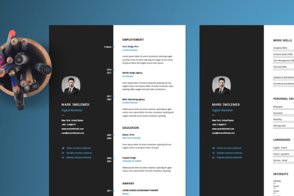 Cv template free download